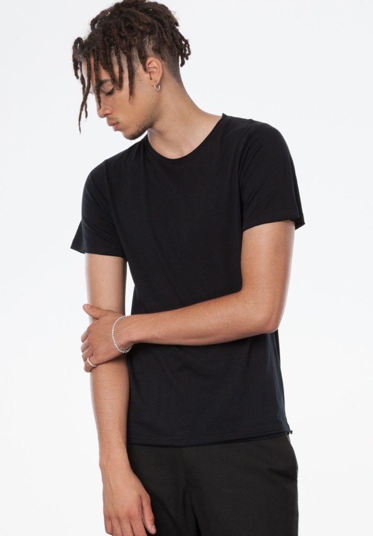 Herren T-Shirt Schwarz  von ThokkThokk