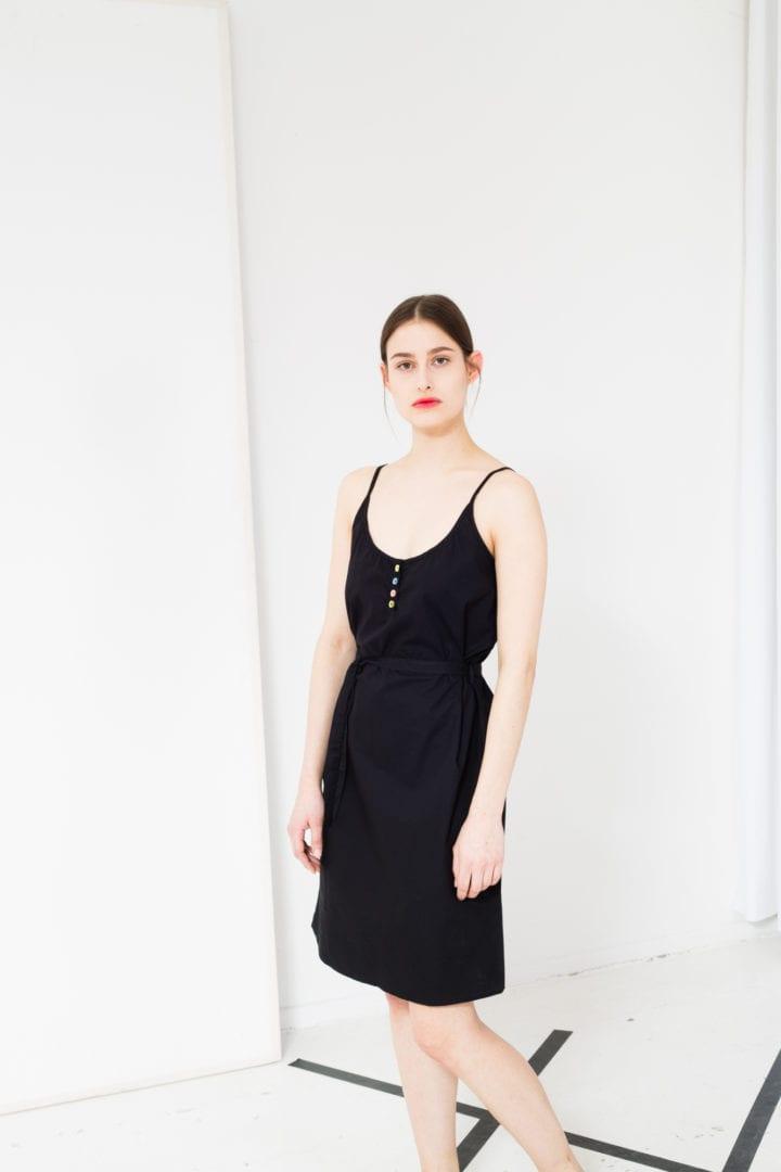 Kleid Schwarz  von ThokkThokk