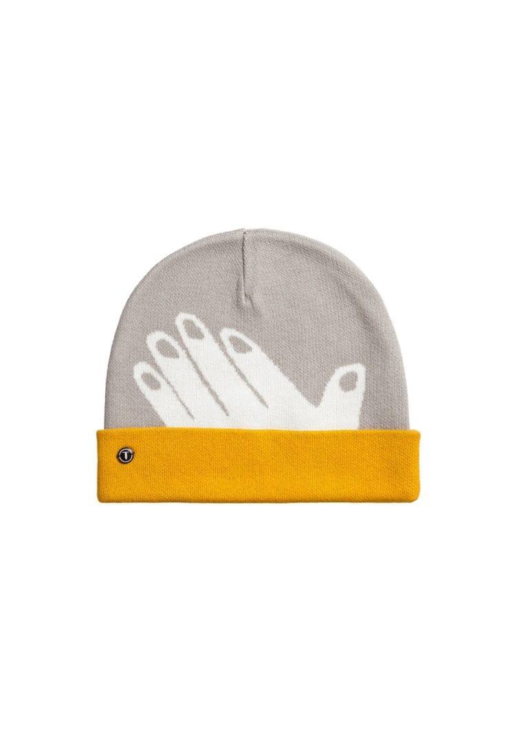 Mütze Hand Grau  von ThokkThokk