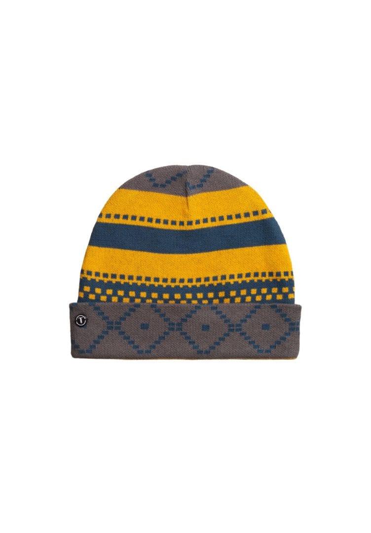 Mütze Jacquard Blau  von ThokkThokk