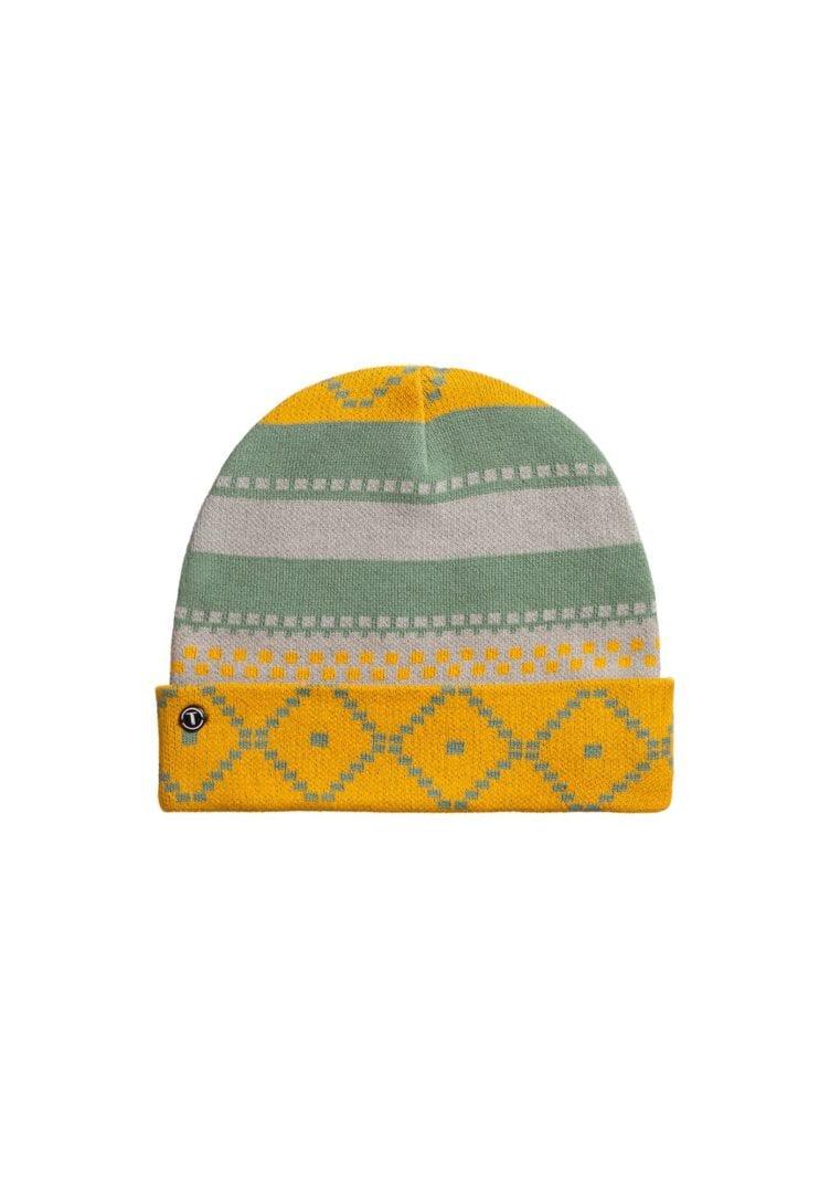 Mütze Jacquard Grün  von ThokkThokk