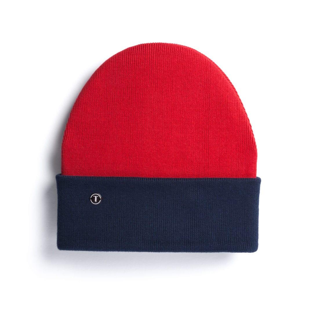 Mütze Rot Blau  von ThokkThokk