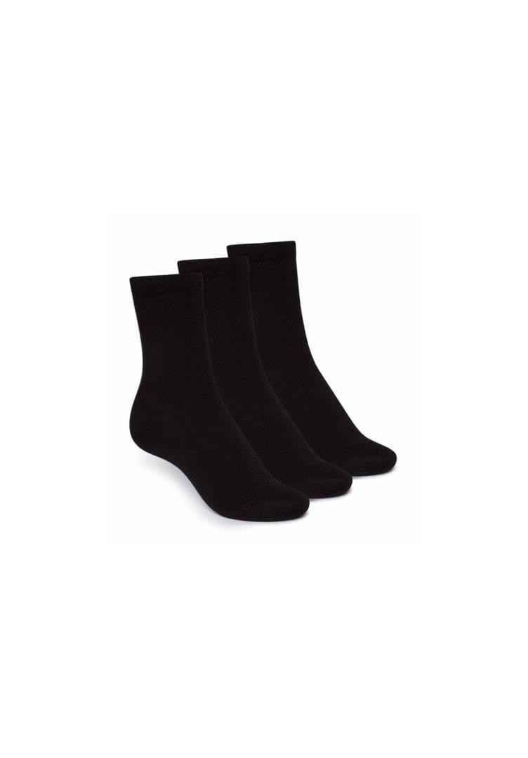 Socken Mittelhoch Schwarz 3er Pack  von ThokkThokk