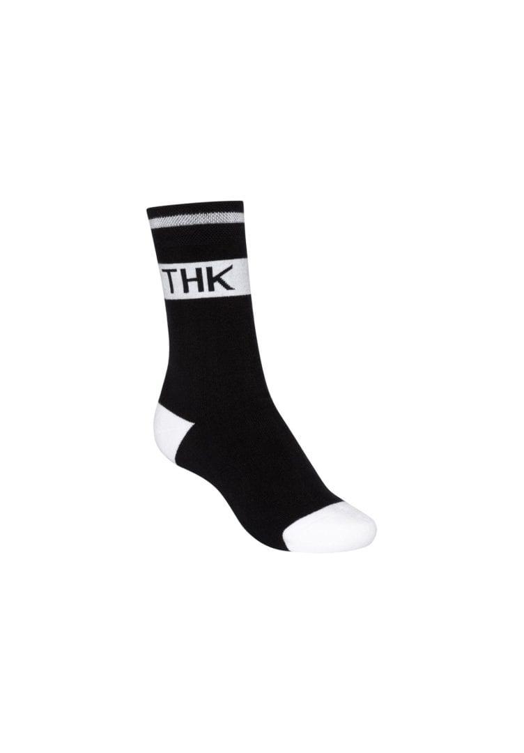 Socken Terry Hoch THK Schwarz  von ThokkThokk