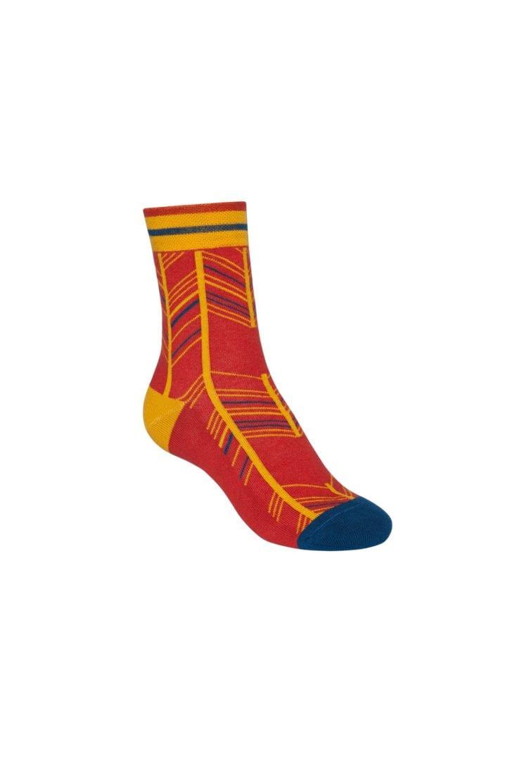 Socken Terry Mittelhoch Fancy Herringbone  von ThokkThokk