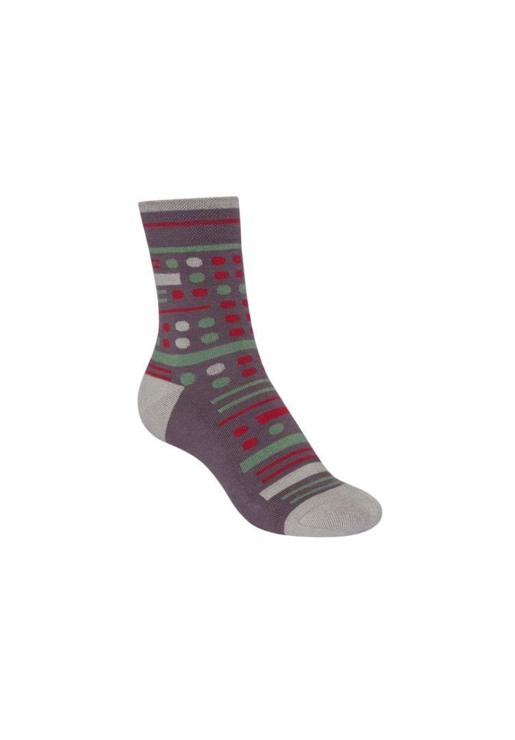 Socken Terry Mittelhoch Geometric Mix  von ThokkThokk