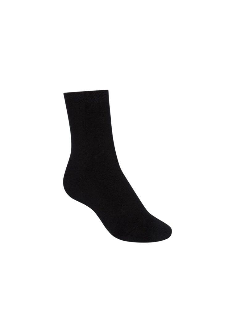 Socken Terry Mittelhoch Schwarz  von ThokkThokk