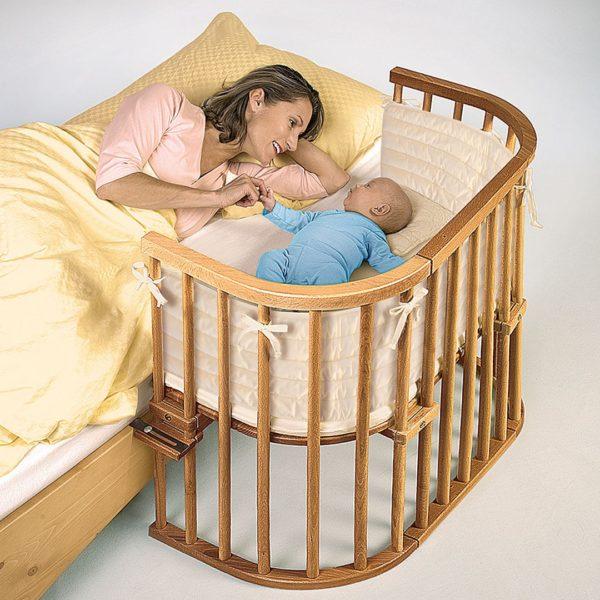 """Beistellbett """"Piccino by babybay"""" - Buche von allnatura"""