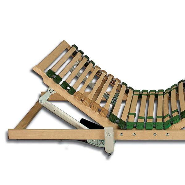 """Elektro-Lattenrost """"Ergomat-natur-XXL 02"""" - 100x220 cm von allnatura"""