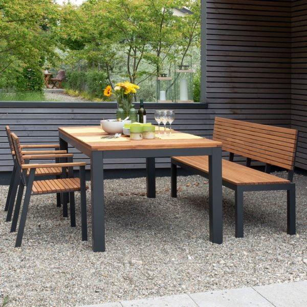 """Gartentisch """"Verano"""" - 100x200 cm von allnatura"""