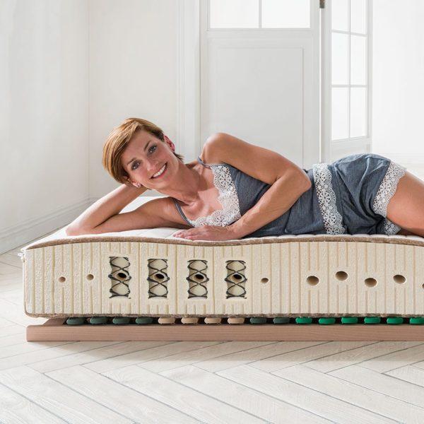 "Naturlatex-Matratze ""Bella-Savalis"" - 100x220 cm von allnatura"