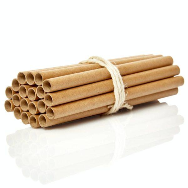 Papierhülsen für DYS Insektenhäuser in verschiedenen Längen von Bambuswald