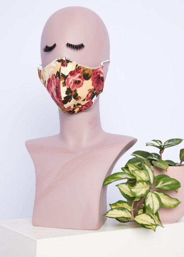Community Mask Beige von blutsgeschwister