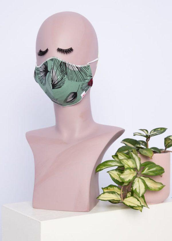 Community Mask Grün von blutsgeschwister