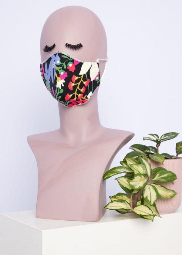 Community Mask Schwarz von blutsgeschwister