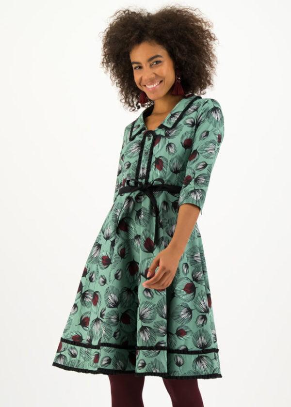 Blusenkleid Hello Mary Rose Grün von blutsgeschwister