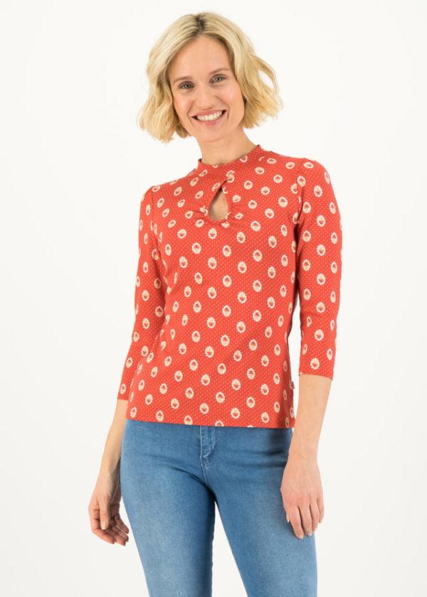 Jersey Shirt Rosemarys Rolli Rot von blutsgeschwister