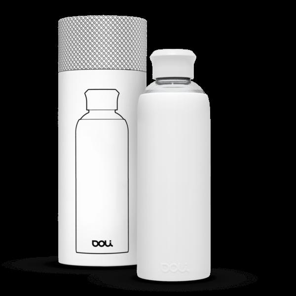 Trinkflasche aus Glas  White 500ml von Doli