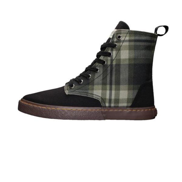 Fair Sneaker Brock Tartan Mystic Green von Ethletic