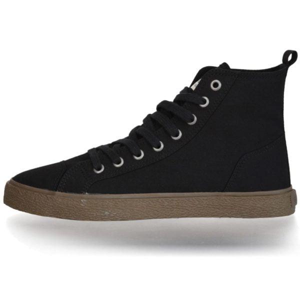 Fair Sneaker Goto HI Jet Black von Ethletic
