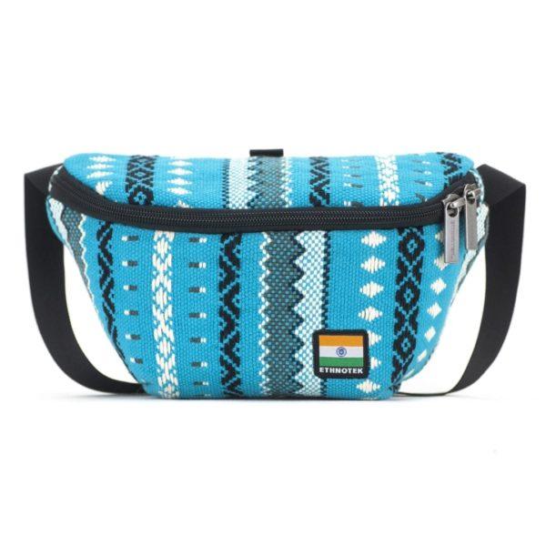 Bagus Bum Bag Bauchtasche Viva con Agua Blue von Ethnotek