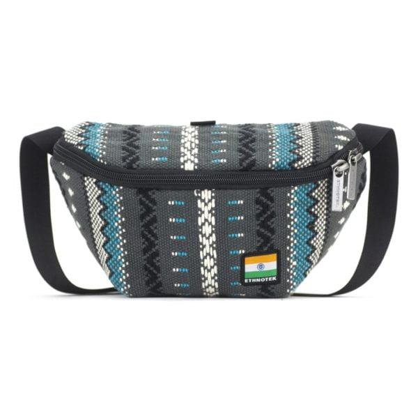 Bagus Bum Bag S Viva con Agua Grey von Ethnotek