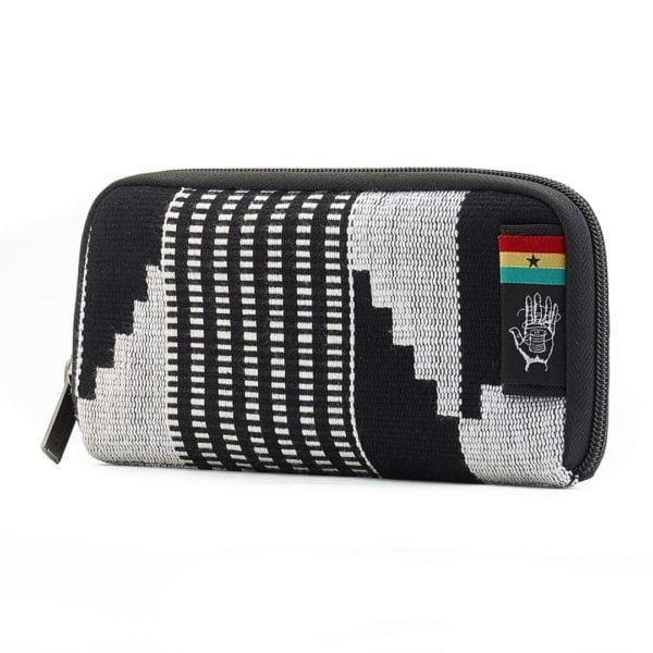 Chiburi Accordion Wallet RFID Block Kente von Ethnotek