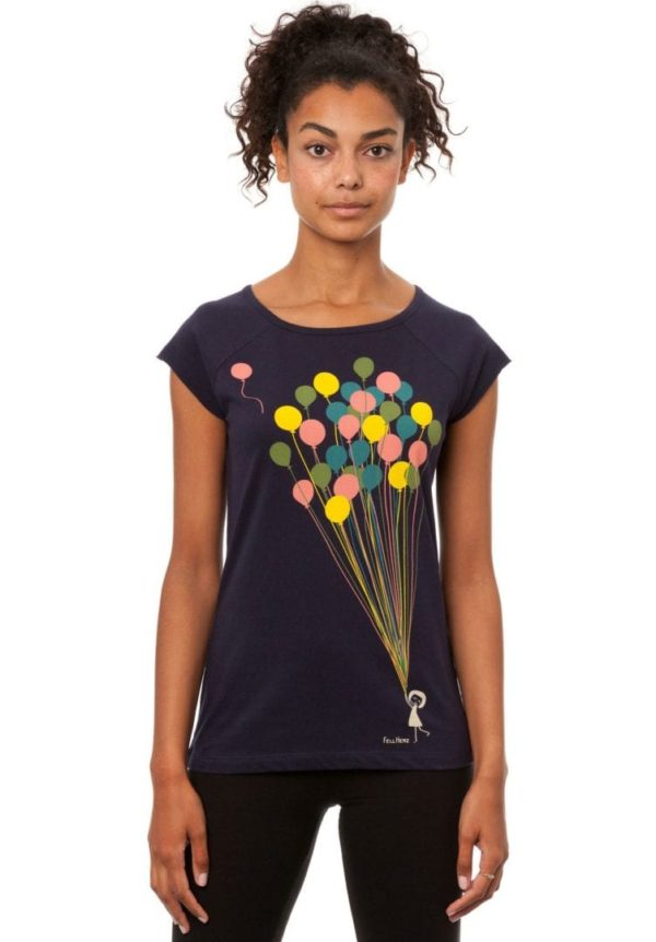 T-Shirt Balloons Girl  von FellHerz