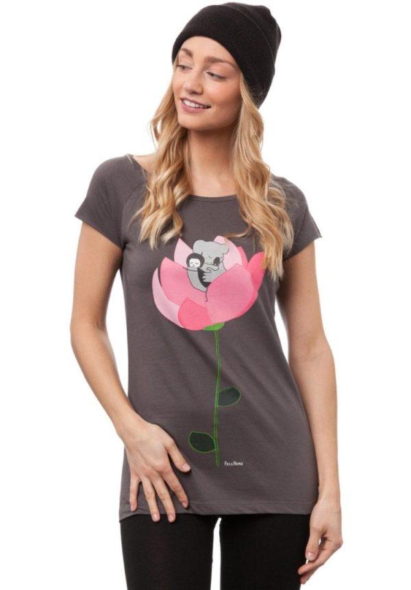T-Shirt Koalamädchen  von FellHerz