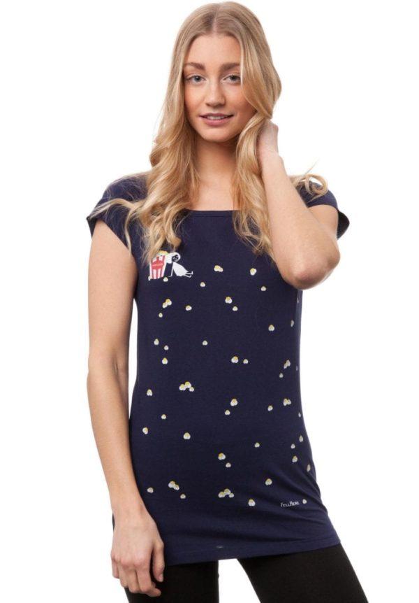 T-Shirt Popcornmädchen  von FellHerz
