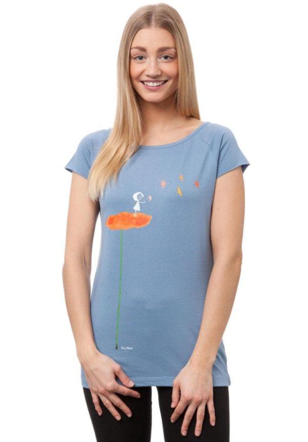 T-Shirt Schwalbenzug  von FellHerz