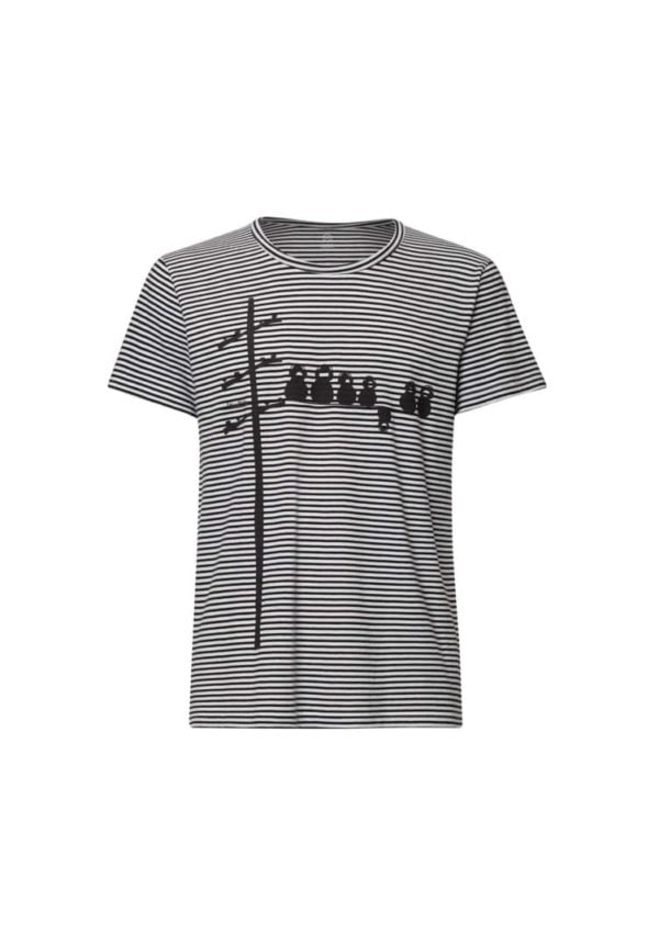 T-Shirt Make Some Noise Schwarzweiß  von FellHerz