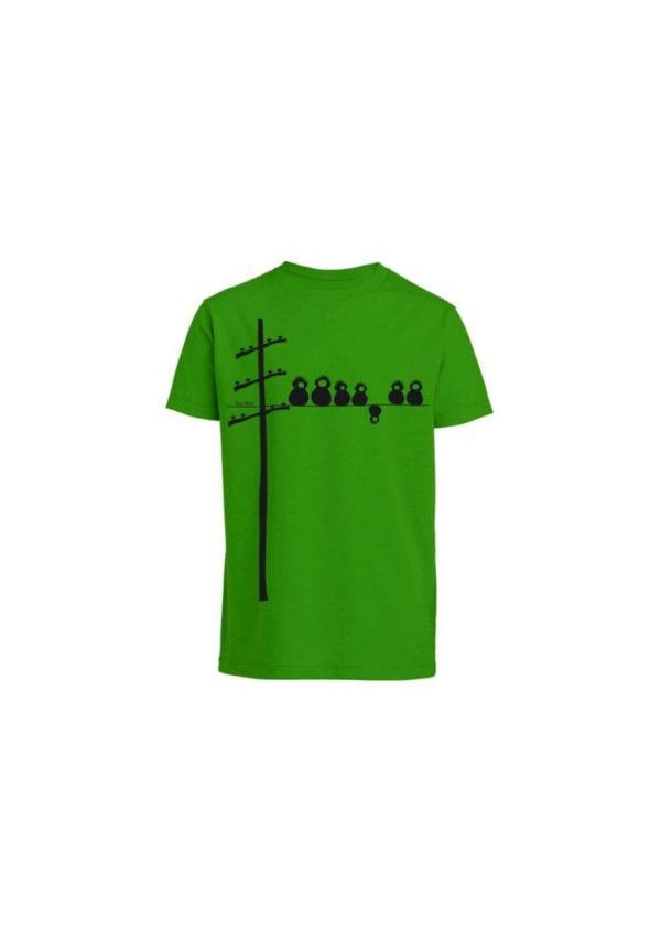 T-Shirt Make Some Noise Grün  von FellHerz