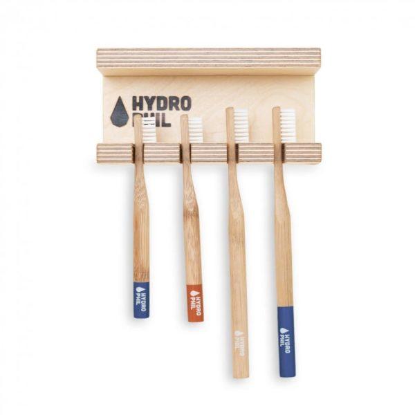 Zahnbürsten Garderobe von Hydrophil