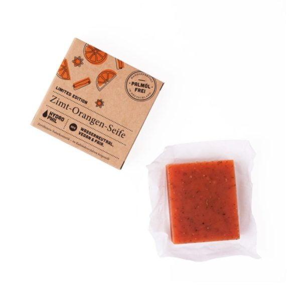 Zimt-Orangen-Seife Limited Edition von Hydrophil