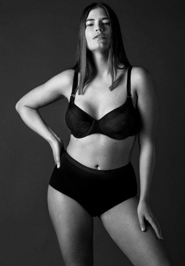 Damen BH CLOVER Curve Style Schwarz von LovJoi
