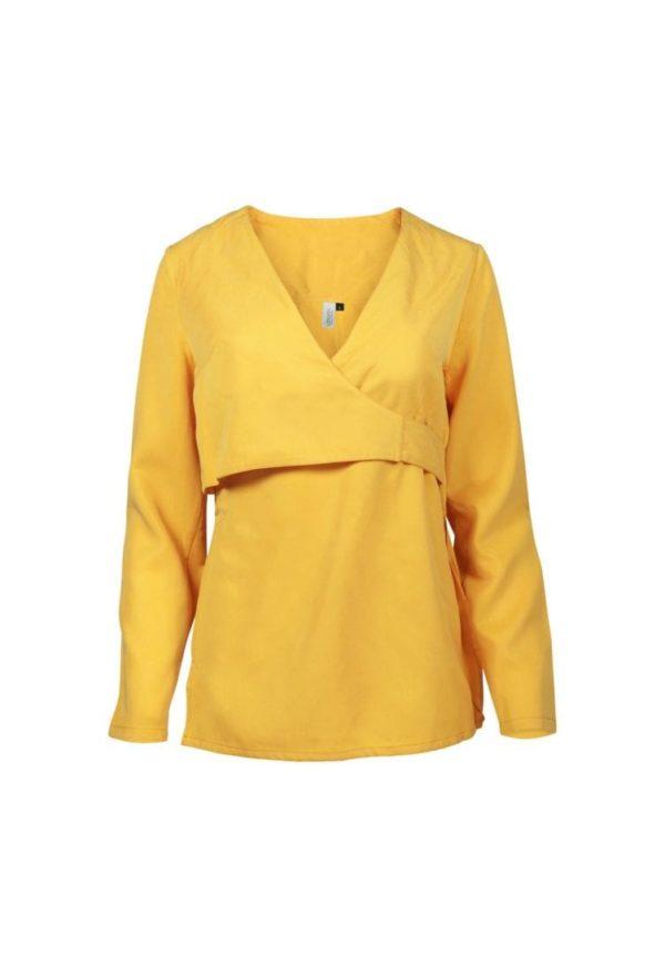 Damen Bluse ALPEDRIZ gelb von LovJoi
