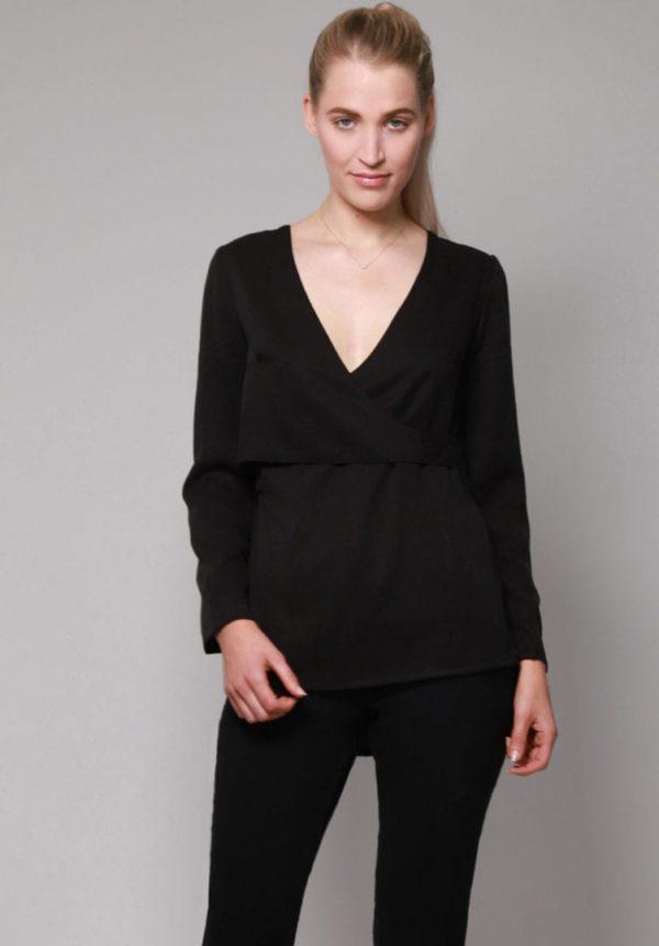 Damen Bluse ALPEDRIZ schwarz von LovJoi