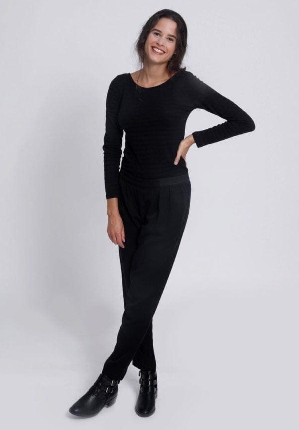 Damen Hose VISKLA Schwarz von LovJoi