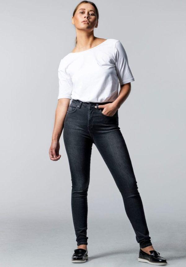 Damen Jeans LEPIOTA Skinny Schwarz von LovJoi