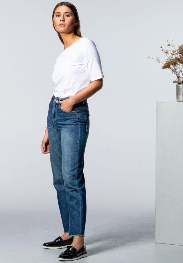 Damen Jeans MEDLAR Straight Middark von LovJoi