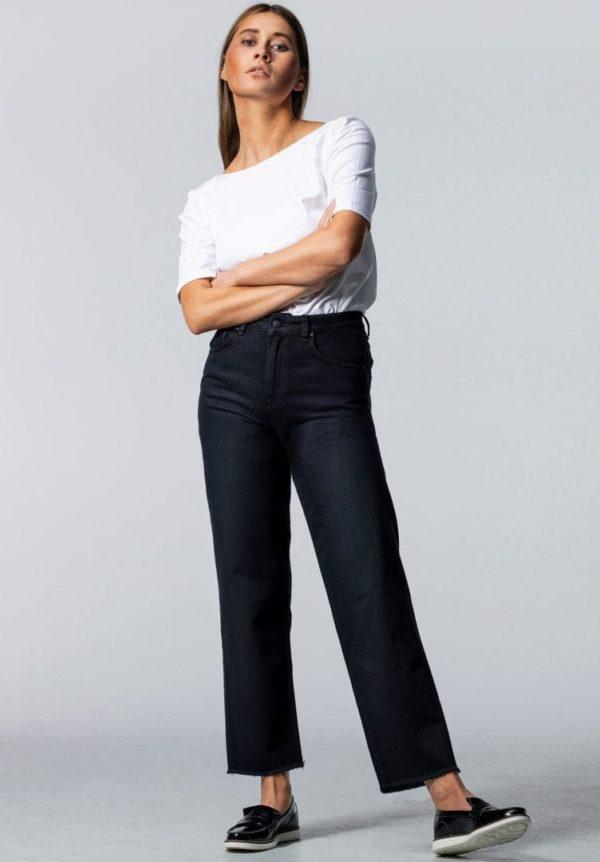 Damen Jeans MEDLAR Straight Schwarz von LovJoi