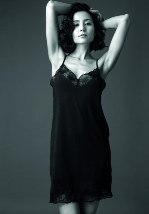 Damen Nachthemd MELIOT schwarz von LovJoi