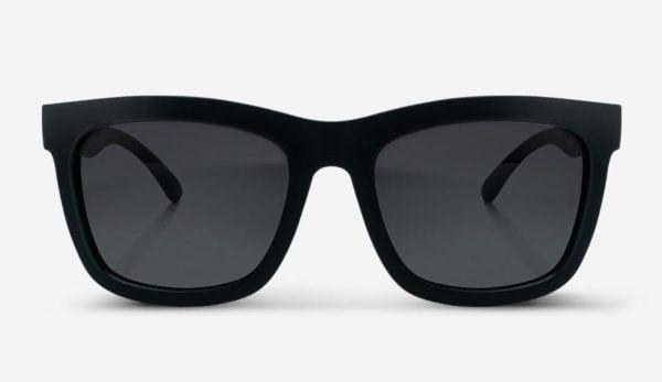 Sonnenbrille Brooklyn Matte Black Unisex von MessyWeekend