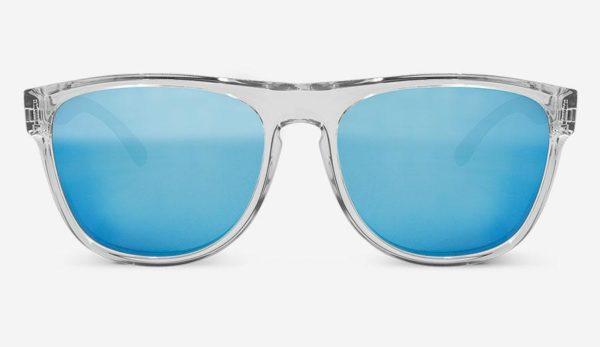 Sonnenbrille Makalu Polarized Crystal Blue Unisex von MessyWeekend