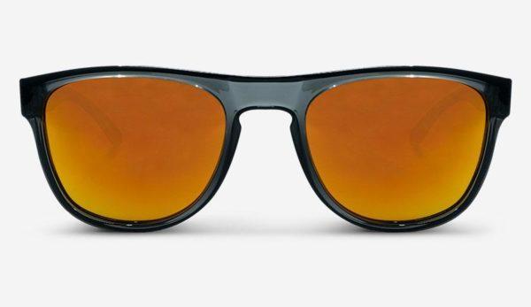 Sonnenbrille Makalu Polarized Transparent Grey Red Unisex von MessyWeekend
