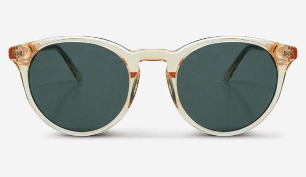 Sonnenbrille New Depp Champagne Unisex von MessyWeekend
