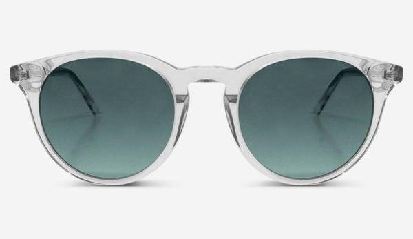 Sonnenbrille New Depp Crystal Green Unisex von MessyWeekend