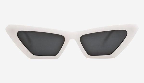 Sonnenbrille New Norma White Unisex von MessyWeekend