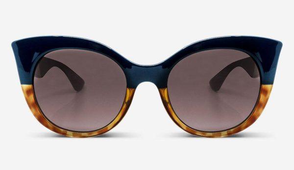 Sonnenbrille Thelma Blue Tortoise Damen von MessyWeekend